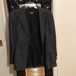 Escada Dark Blue Blazer, Size 36 (8ish).